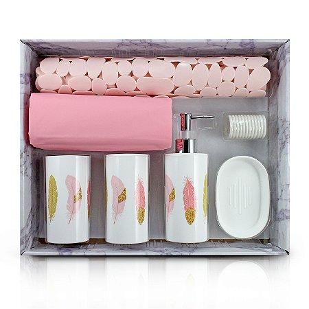 Kit de Banheiro Completo de 7 Peças
