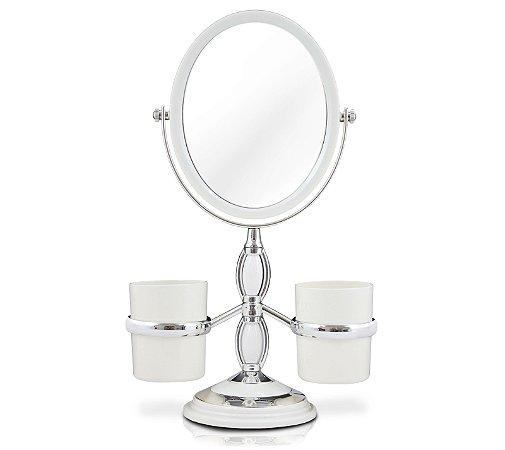 Espelho de Mesa com Suportes Laterais Jacki Design