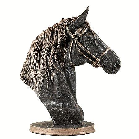 Cabeça de cavalo c/ cabresto