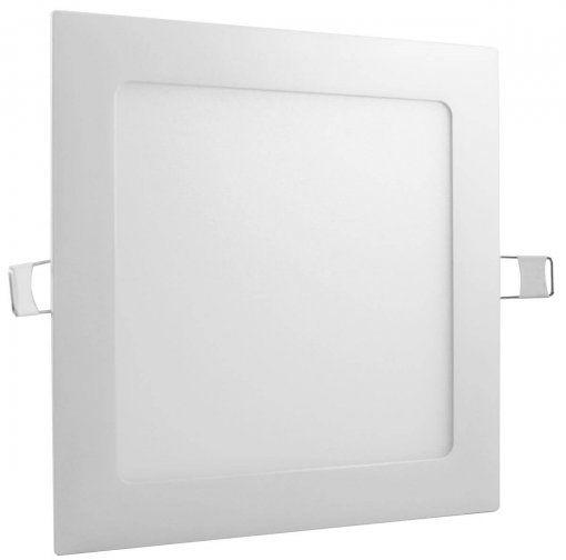 Luminária Plafon Led Quadrado Embutir 24W 6400K