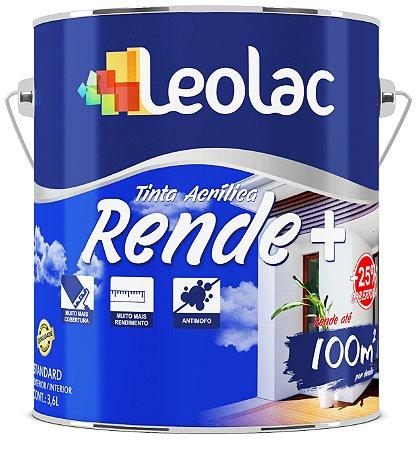 Tinta Acrílica Fosco Rende Mais Pérola LeoLac 3,6 Litros