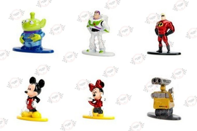 Nano Metalfigs Disney