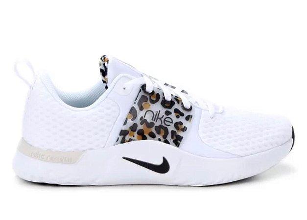 Tênis Nike Season TR10 Feminino Cor Branco/Onça