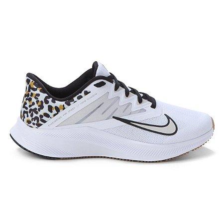 Tênis Nike Quest 3 Feminino Cor Branco/Preto