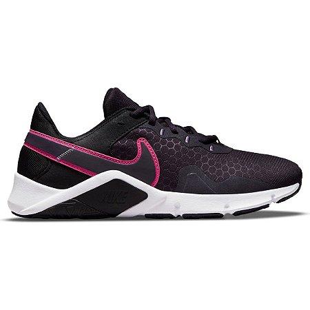 Tênis Nike Legend Essential 2 Feminino Cor Preto/Pink