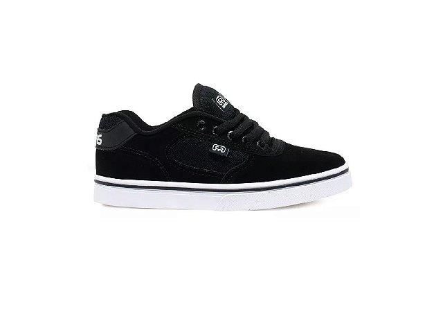 Tênis Hocks Skate Flat Lite Cor Black/White