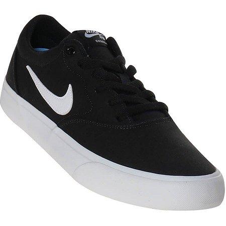 Tênis Nike Skate Sb Charge Slr Cor Preto/Branco
