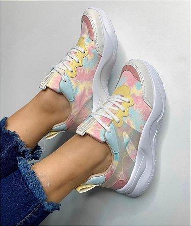 Tênis Via Marte Dad Sneaker Cor Chantily