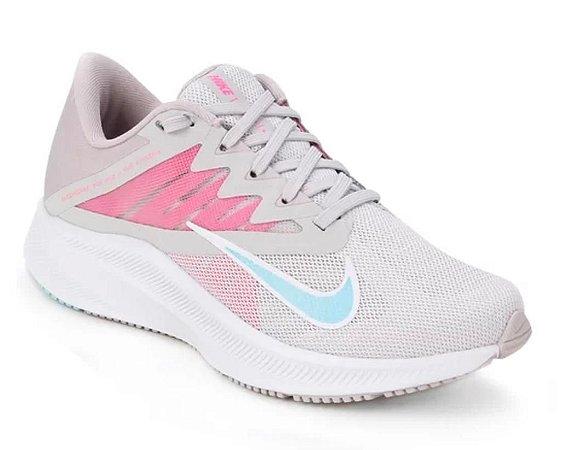 Tênis Nike Wmns Quest 3 Cor Cinza/Rosa