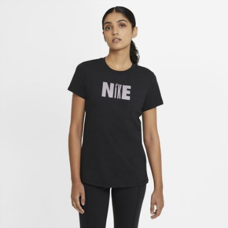 Camiseta Nike Feminina Icon Clash Cor Preto