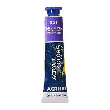 Tinta Acrílica Acrilex 20ml 321 Violeta