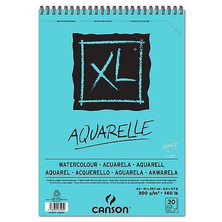 Bloco Canson XL Aquarela 300g  A-4 30fls