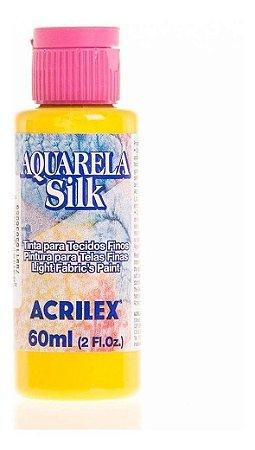 Tinta Tecido Aquarela Silk 60ml Amarelo Ouro 505