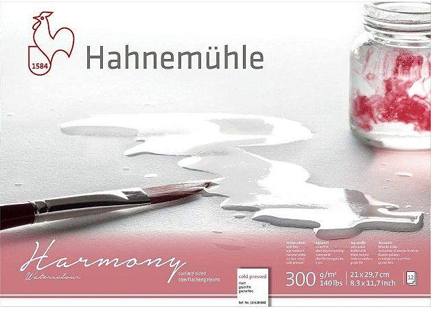 Bloco Aquarela Harmony Watercolour 300g Textura Grana Fina A-4