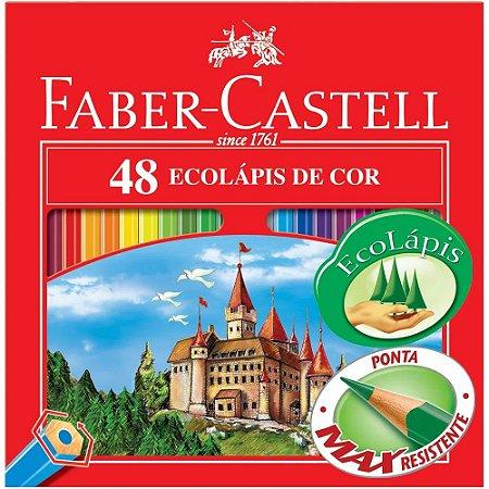 Lápis de Cor Faber Castell EcoLápis 48 cores