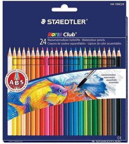 Lápis Cor Staedtler Noris Club Aquarelável 24 cores