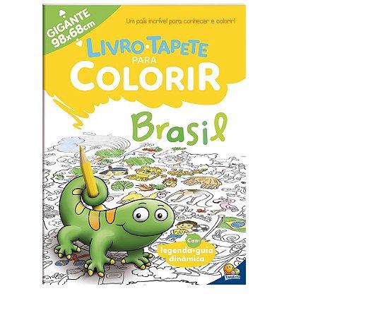 Livro-Tapete para Colorir: Brasil Todolivro