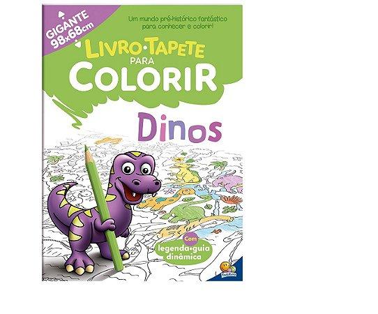 Livro-Tapete para Colorir: Dinos Todolivro