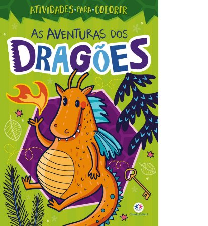 As Aventuras dos Dragões Atividades para colorir - Ciranda Cultural