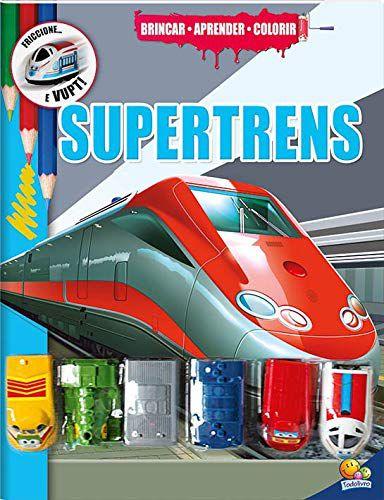 Brincar-Aprender-Colorir : Supertrens - Todolivro brinquedo de fricção