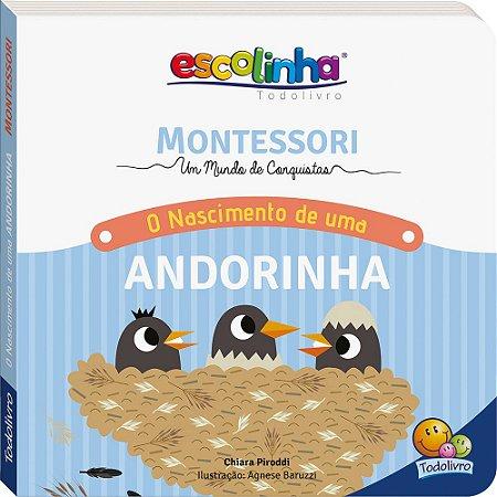 Escolinha Montessori Meu Primeiro livro... O Nascimento de uma Andorinha