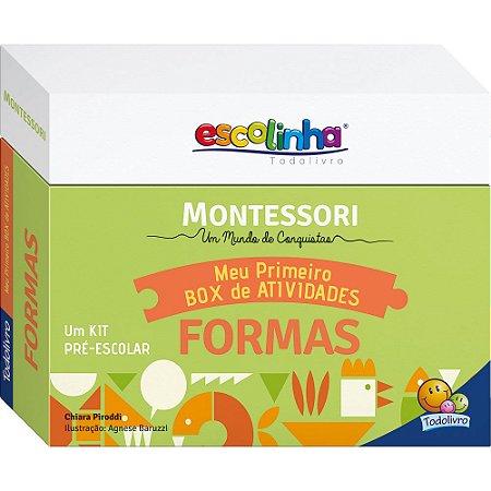 Escolinha Montessori Meu Primeiro Box de Atividades... Formas