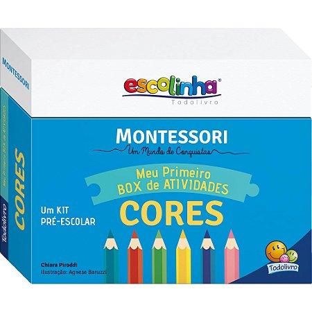 Escolinha Montessori Meu Primeiro Box de Atividades... Cores