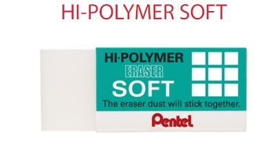 Borracha Pentel Hi Polymer Soft ZES-08E