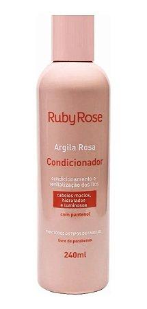 Condicionador Argila Rosa com Pantenol - Ruby Rose*