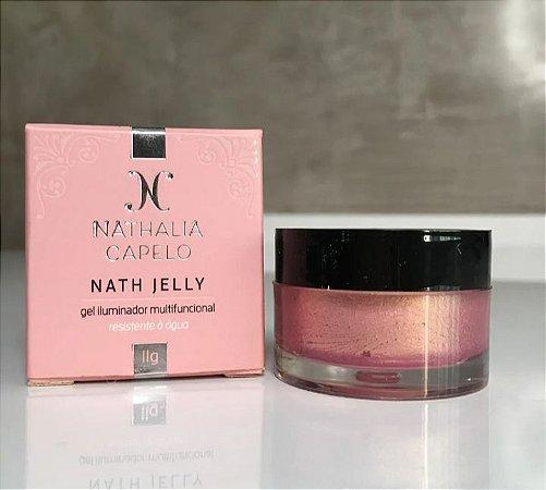 Nath Jelly Iluminador Cremoso - Cor Rose Gold Nathalia Capelo