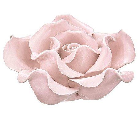 Flor Rosa Cerâmica - Mart Collection