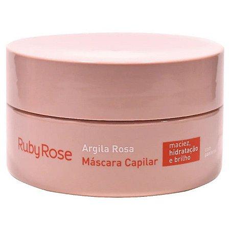 Máscara Capilar  Argila Rosa - RUBY ROSE *