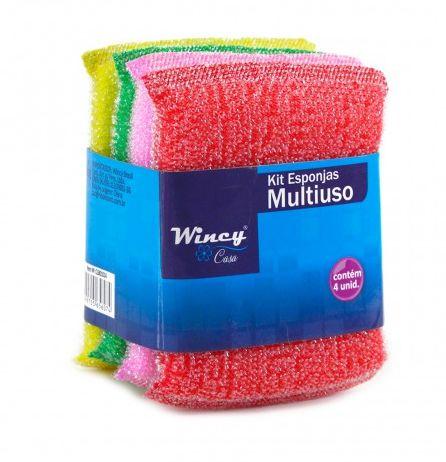 Kit Esponjas Multiuso - WINCY