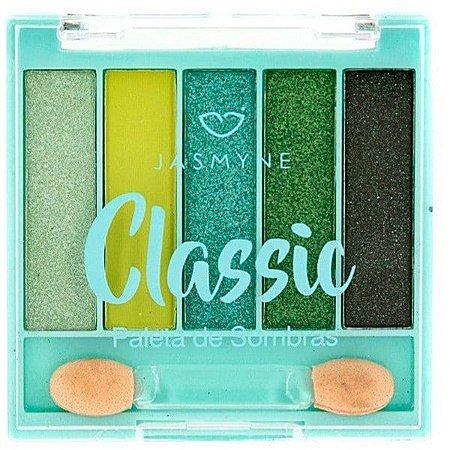 Paleta de Sombras Jasmyne Classic Green*