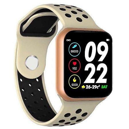 Relógio Inteligente Sport F8 Gold*