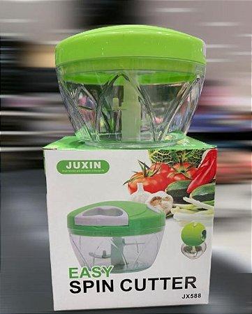 Triturador Processador Manual Easy Spin Cutter *
