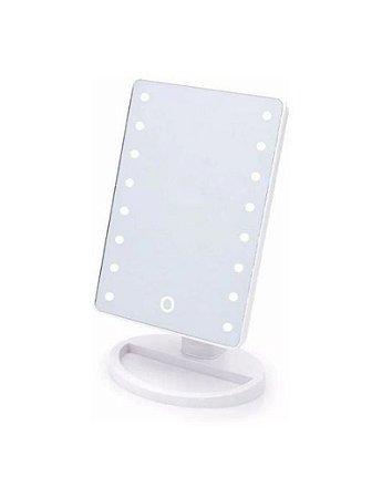 Espelho para maquiagem com LED