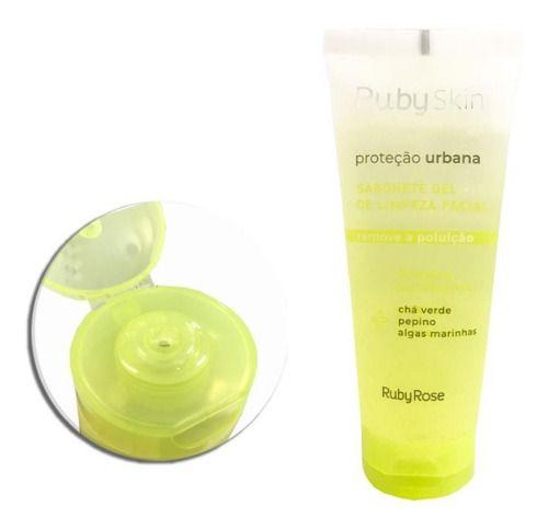 Sabonete gel de limpeza facial