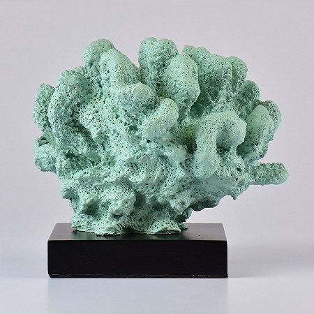 Enfeite Coral com Base