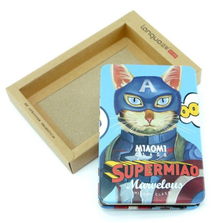 Bloco de Notas Gato Azul Capitão América