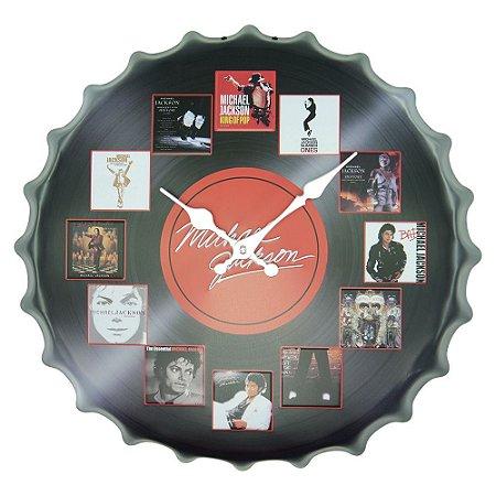 Relógio Decorativo Tampa Relógio Michael