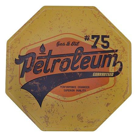 Placa Vintage Petroleum