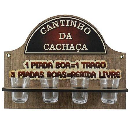 Porta Copo Cantinho 1 Piada Boa...