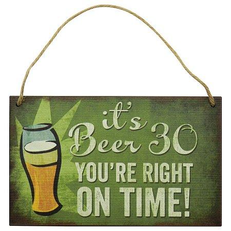Quadro Decorativo Beer - Verde