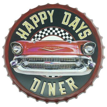 Tampa Decorativa Happy Days Dinner