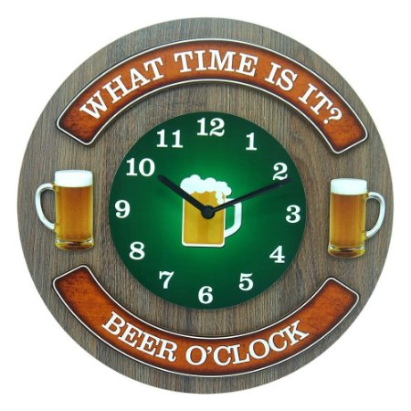 Relógio de Parede What Time Is It