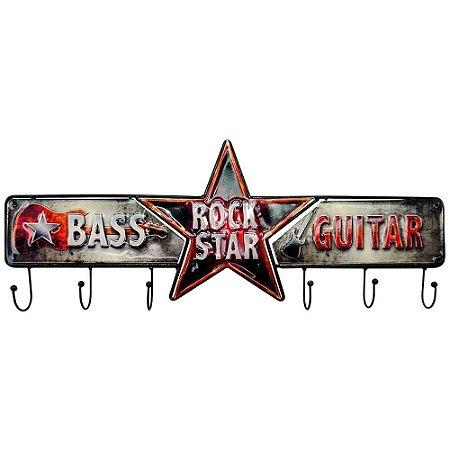 Cabideiro Rock Star
