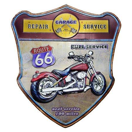 Quadro Moto Route 66