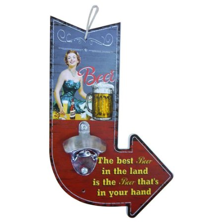 Abridor de Garrafa de Madeira Seta Best Beer