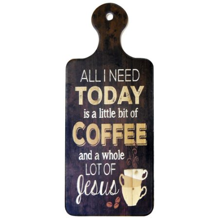 Tag de Cerâmica Coffee